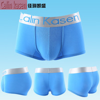 Hot Sale High Quality 1 PCS Sexy Men Boxer Shorts Men's Sexy Underwear Boxers Cotton & Modal Men Boxer Shorts 4 Size Wholesale