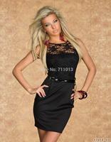 New fashion lace design vestidos plus size women dress elegant casual dress women work wear