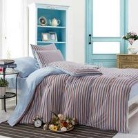 UPS free brand striped Indian cotton plain kids bedding comforter set needlework bed linen patchwork quilt mattress/duvet cover