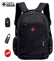 Free shipping SwissGear laptop bag   laptop backpack  0619