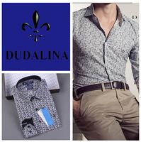 2014 polo camisa masculina shirt camisa DUDALINA roupas casual men male imported clothing xadrez blusa masculina  100