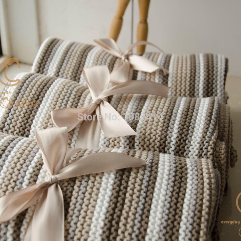 Online kopen wholesale gestreepte katoenen deken uit china gestreepte katoenen deken groothandel - Bed grijze volwassen ...