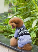 Free Shipping! 2014  Popular  Pet Clothes 2 Colors Elegant Four-legged Dog Clothes  High Quality A4010