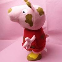 "Free shipping 1pcs 32cm=12.6"" High Qulaity Pepa Pig Plush Toys Mud pig baby & Kids birthday gift"
