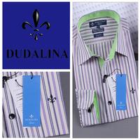 2014 polo camisa masculina shirt camisa DUDALINA roupas casual men male imported clothing xadrez blusa masculina  2018