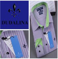 2014 polo camisa masculina shirt camisa DUDALINA roupas casual men male imported clothing xadrez blusa masculina  2028