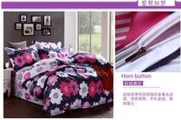 100% Cotton Home textile Reactive Print 4Pcs comforter bedding sets luxury include Duvet Cover Bed sheet Pillowcase