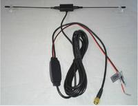 DVB-T DVB antenna CMMB car digital TV antenna high gain active amplifier analog or FM antenna DAB