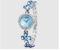 KIMIO brand,The new, four-leaf clover style bracelets, beautiful quartz watch,women casual watch ,women dress watches