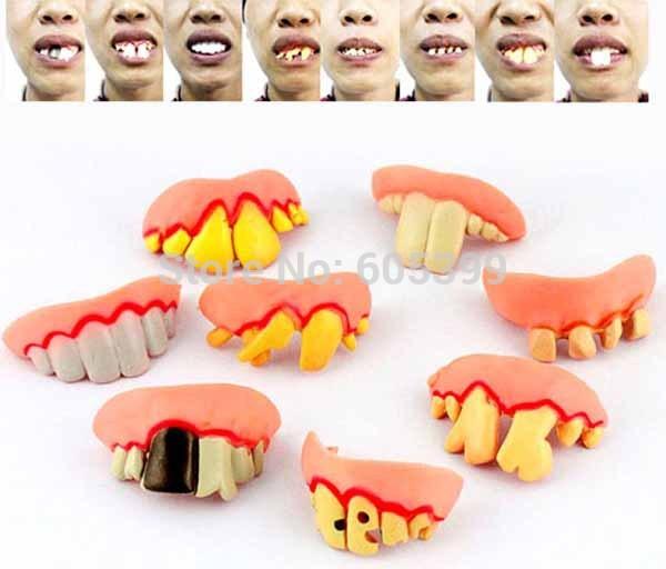 Детская игрушка розыгрыш Vampire Teeth 5  Vampire dentures vampire dance