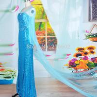 elsa costume elsa dress adult frozen costume princess elsa cosplay halloween costumes for women snow queen frozen dress custom