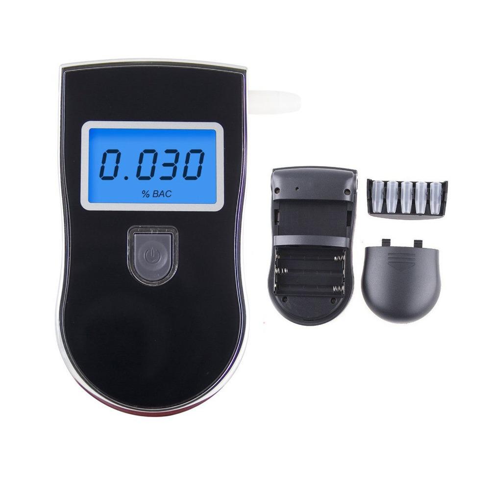 50pcs/lot Advanced Prefessional Police Digital Breath Alcohol Tester Breathalyser Detector(China (Mainland))