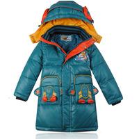 Mitch 2014 child down coat male child medium-long down coat children winter