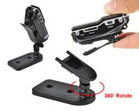 Free shipping MD80 Mini DVR Sport Camcoder Bike Camera 720*480 Resolution Portable Sport MD80+Bracket+Clip