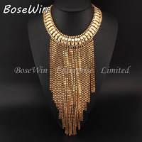 2014 Fall Fashion Jewelry Bubble Chains Neck Bib Collar Chokers Long Snake Chain Statement Necklace Women Evening Dress CE2325