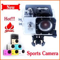 Best Price Action Camera Diving 30M Waterproof Sports Camera 1080P Full HD Helmet Camera Underwater Sport DV SJ4000 Gopro Style