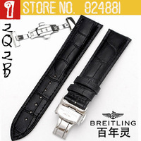 2014 New TOP Brand Watchbands,18/20/22 mm,Silver Double-click Automatic-open Butterfly Deployment Clasp,Straps Free Shipping