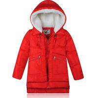 Mitch 2014 child down coat male female child child medium-long down coat winter