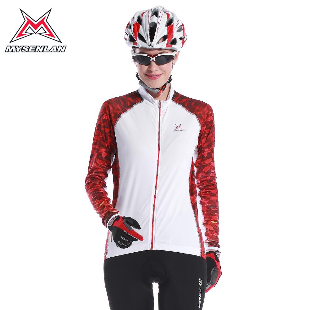 passeio de bicicleta de montanha serviço longa- manga top feminino bicicleta roupas verão nova chegada 2014 smithson(China (Mainland))