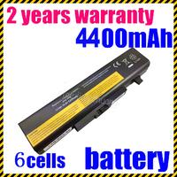 Wholesale 6 Cells Laptop battery for Lenovo IdeaPad Y460, 121001034, 57Y6440, L09N6D16, L09S6D16,   L10L6Y01, L10N6Y01, L10S6Y01