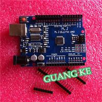 Free shipping 5set/lot UNO R3 UNO board with usb cable for Arduino(Compatible) UNO MEGA328P CH340G