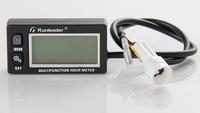 Waterproof multifunction hour meter tachometer voltmeter for gas petrol engine motocross atv MARINE