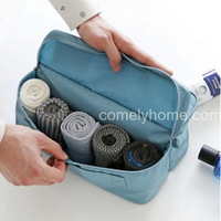 Underwear divided pouch, double pocket travel bag