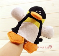 Penguin puppet bathwater baby 100% cotton bath baby bath toys