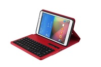 2014 new Bluetooth Keyboard+ PU Leather Case ABS removable keyboard for samsung Galaxy Tab4 T330 - Multi Colors free shipment
