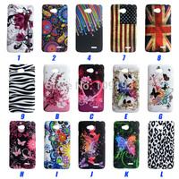 15Species case for LG L70 D320 D325 cover UK USA flag Zebra Lepoard star rose butterfly heart Designs Plastic Back phone case