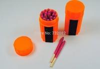 Free Shipping 20 pcs  Portable Extra-large Head Windproof Waterproof Matches  E4229-orange
