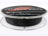 Hot sale PE Dyneema Braided Fishing Line 100M 100LB 0.55mm 109 Yard Spectra Braid Black color