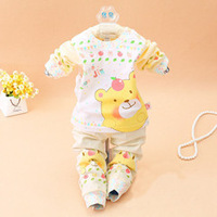 2014 Baby winter baby boys girls clothes set infant coat children warm clothes baby casual newborn baby wear infant jackets