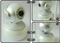 Wireless IP Camera, P2P CCTV Camera,1/4inchh,  1.3 Mega Pixel, Auto IR-LED