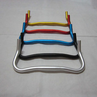 *Retail* Aluminum Alloy 25.4mm Diamter 420MM MTB Mountain Road Bike Bicycle Ox Horn Bend Handlebar Black/Red/Blue/Gold/Silver