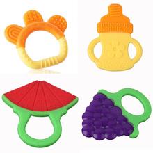 hotsale 1 piezas glister infantil bebé niño dientes de seguridad trasero molar mordedor de silicona palo(China (Mainland))