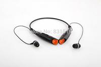 New Zealot Z8 Wireless headset Sports mp3 headphone with FM radio neck hang MMC /SD card read Earphone