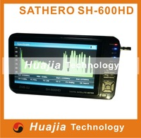 Digital Sathero SH-600HD DVB-S/S2 Universal HD satellite TV signals receive Finder meter with a 7inch LCD screen