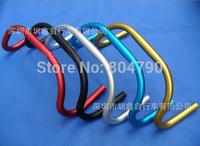 *Retail* Aluminum Alloy 25.4mm Diamter 420MM MTB Mountain Road Bike Bicycle Sheep Horn Bend Handlebar Black/Red/Blue/Gold/Silver