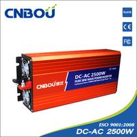 2500w 2.5kw 48v dc 110v ac off-grid system pure sine wave solar inverter