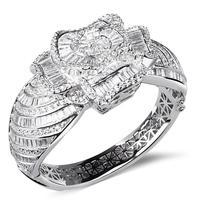 Super Quality women's bangle bracelet in flower shape best for wedding party