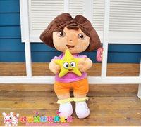 good quality 22cm plush dora smart dora explorer dora best selling toys one piece free shipping