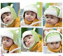 Sherpa children new winter hat baby warm winter hats Lei Korean Trendy baby cap(China (Mainland))