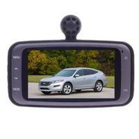 "HD-188 720P HD portable car recorder vehicle blackbox with 2.7 ""LTPS TFT LCD screen - Black + Silver"