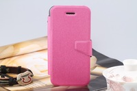silk pattern leather case for iphone 5c