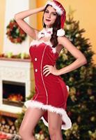 2014 New Sexy Womens Costume Xmas Santa Tuxedo Costume Christmas Day  LC7239 (include 1 X Costume, 1 X Headwear, 1 X Neckwear)