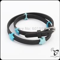 New arrival popular shiny silicone charm bracelet JB1569