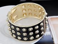 OU4018 2015 Fashion Chunky Luxury Dubai Druzy Leaf Cuff Women Bracelet,Hot New Trending,Party ,Big Event Bangles