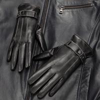 woodpecker genuine leather gloves men's sheepskin gloves