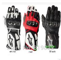 NEW 2014 BRAND Alpine/stars SP-2 Gloves gp pro Original Genuine MEN'S Driving Motorcycle Leather Gloves Sports MTB DH gloves